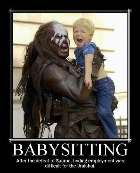 Uruk-hai + baby