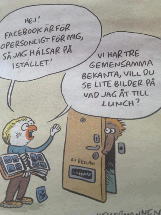 Facebook-Skämt