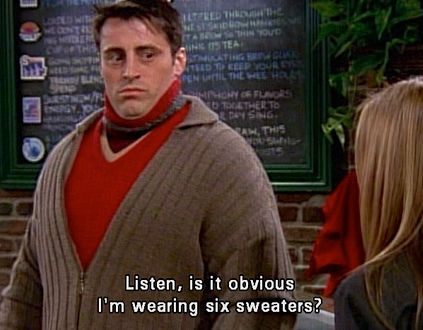 6 sweaters