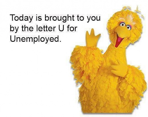 Big bird unemployed