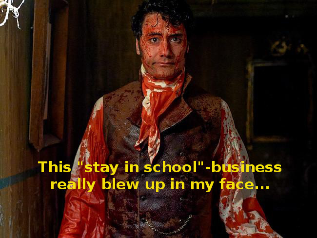 Bloody Viago Captioned