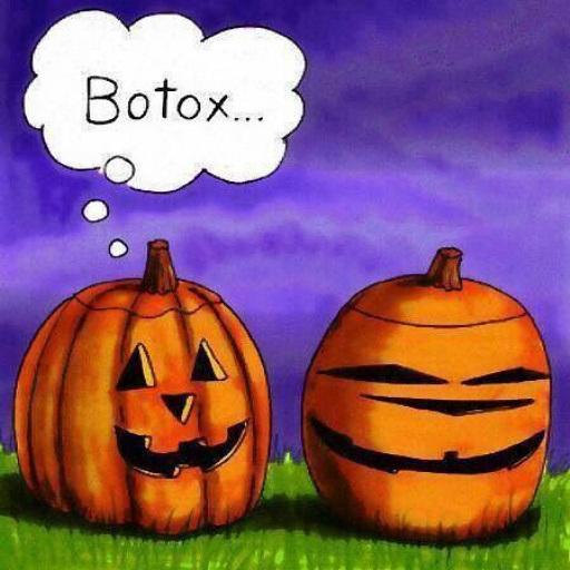 Botox pumpkin