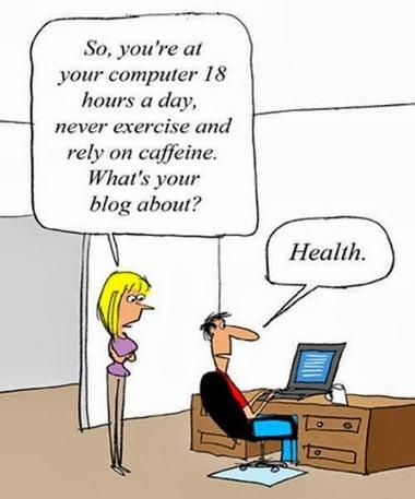 Health blogger 2