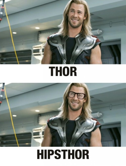 Hipster Thor