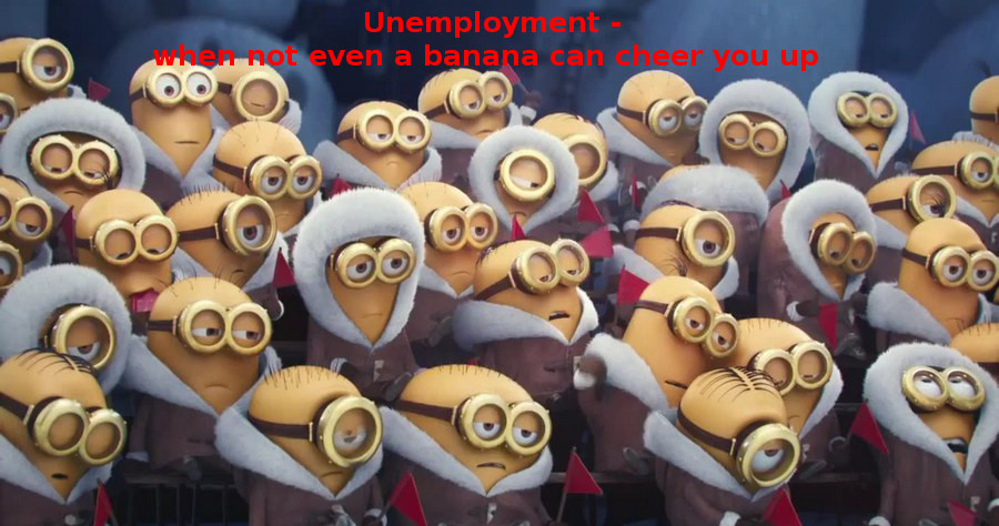 Minions sad captioned