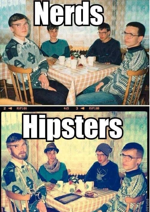 Nerds Hipsters funny