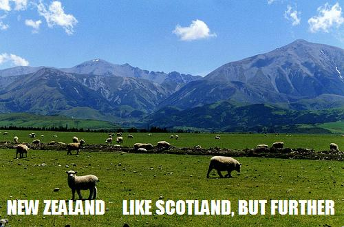 New Zealand Scotland