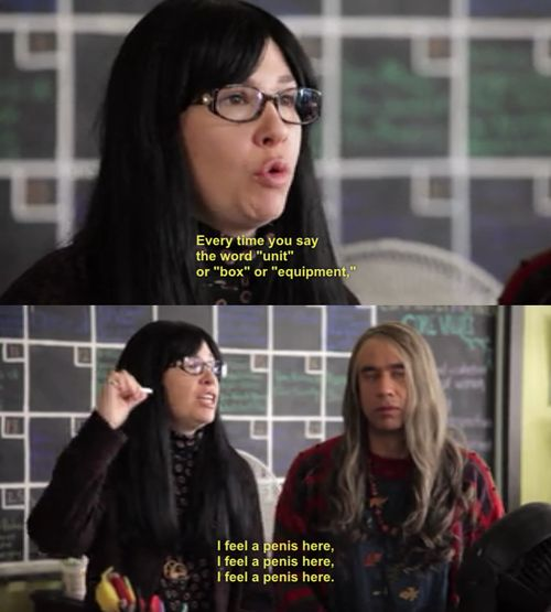 Portlandia Penises everywhere