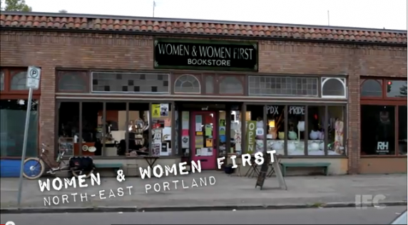 Women and women first storefront